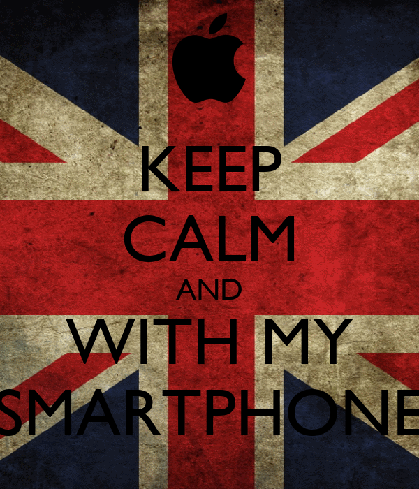 KEEP CALM AND WITH MY SMARTPHONE