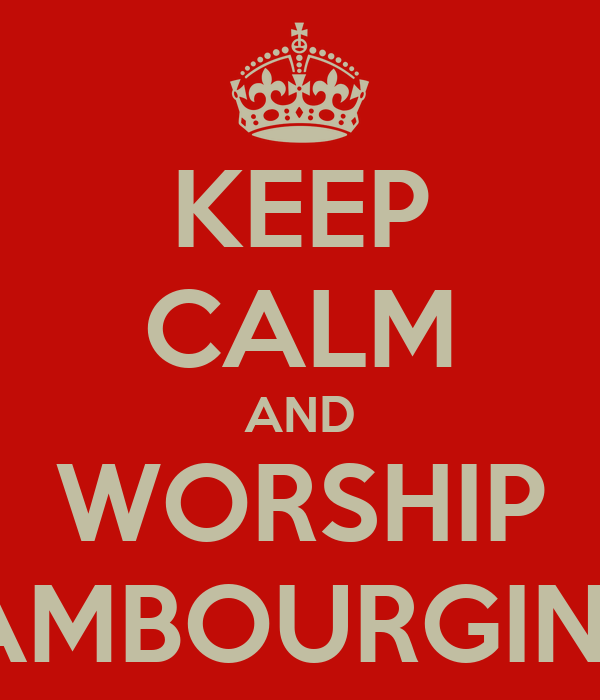 KEEP CALM AND WORSHIP LAMBOURGINI'S