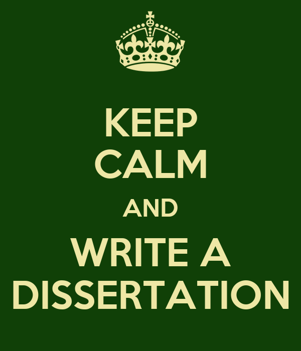 Help with write a dissertation in 2 months