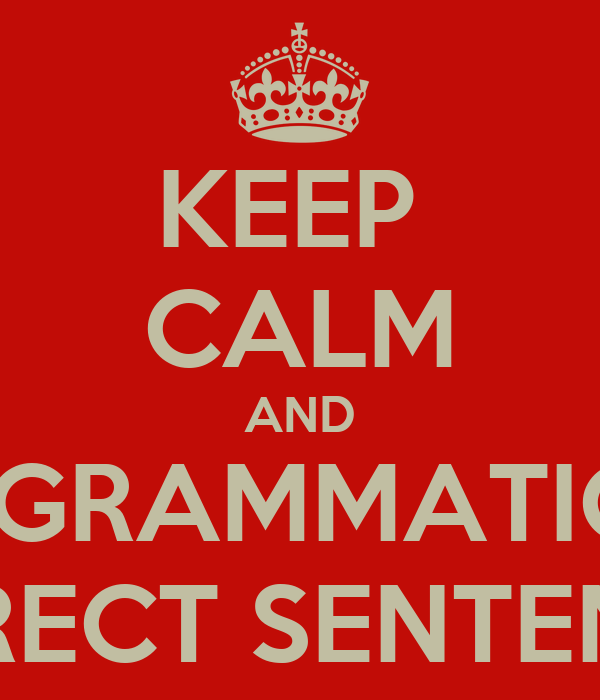 Gramatically