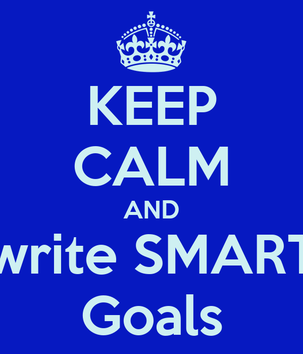 how to write smart goals in education