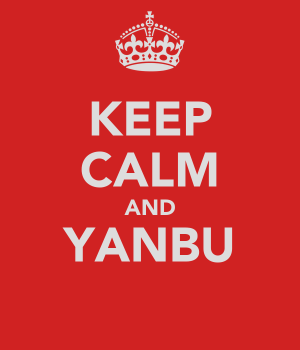 KEEP CALM AND YANBU