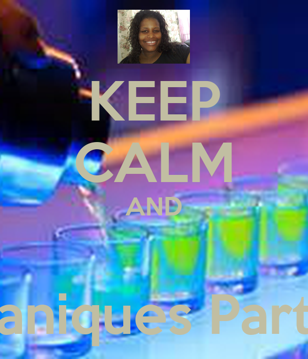KEEP CALM AND  yaniques Party