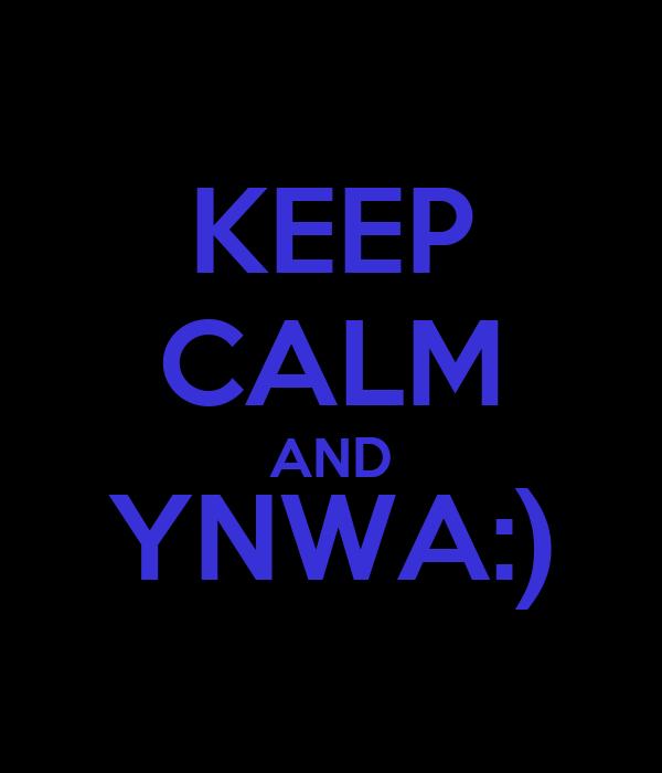 KEEP CALM AND YNWA:)
