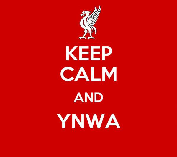 KEEP CALM AND YNWA