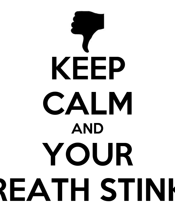 how to know if your breath stinks