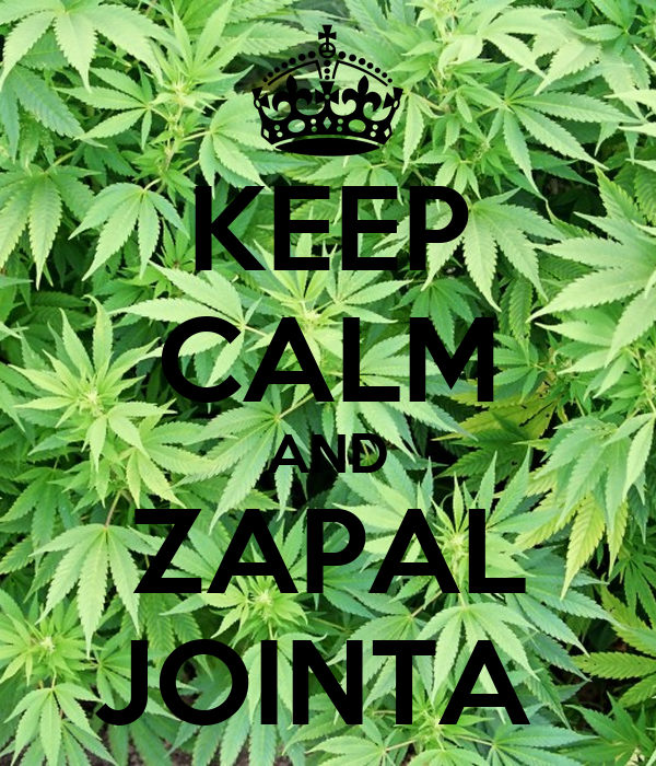 KEEP CALM AND ZAPAL JOINTA