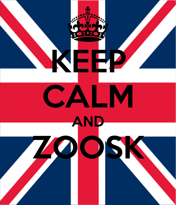 KEEP CALM AND ZOOSK