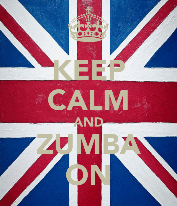KEEP CALM AND ZUMBA ON