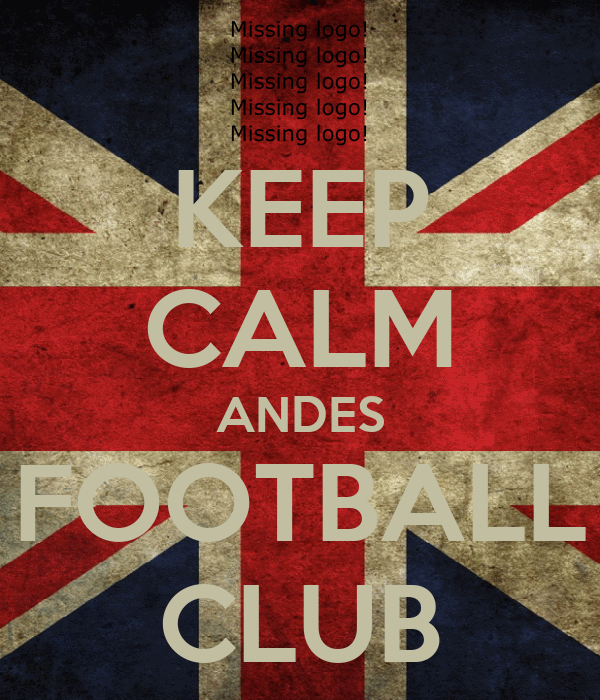 KEEP CALM ANDES FOOTBALL CLUB