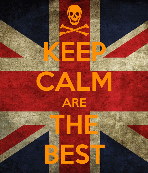 KEEP CALM ARE THE BEST