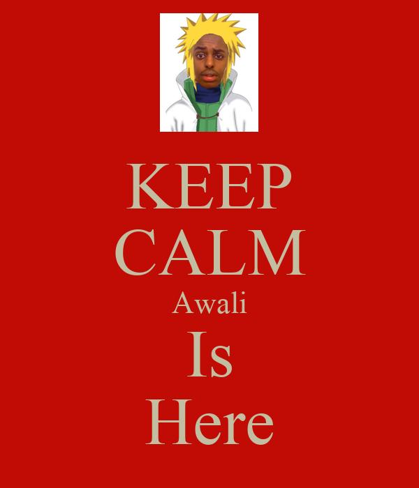 KEEP CALM Awali Is Here