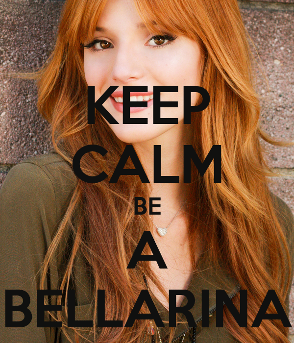 KEEP CALM BE A BELLARINA
