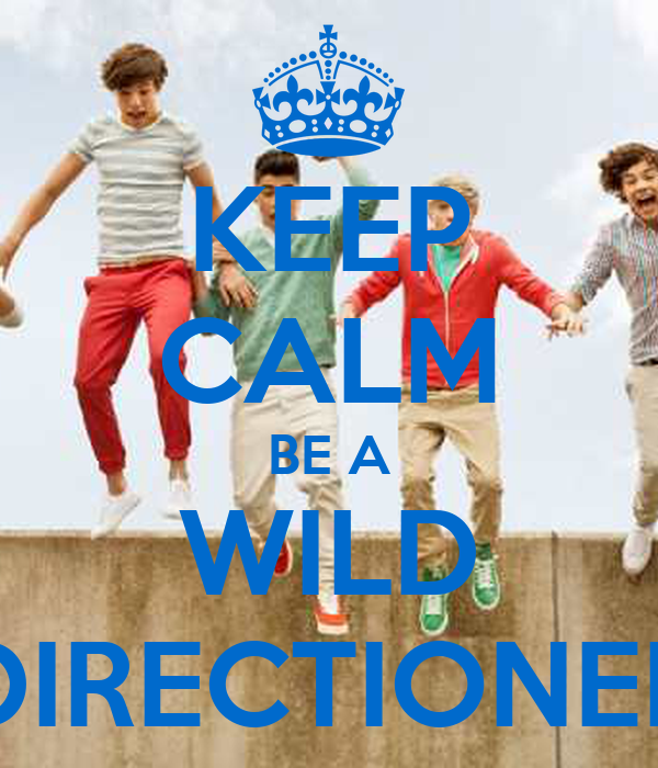 KEEP CALM BE A WILD DIRECTIONER