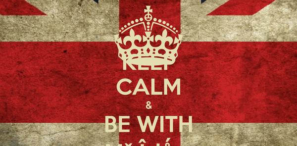 KEEP CALM & BE WITH Mř Îşlǻm