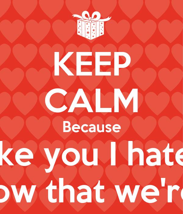 Because I Liked You, by A.E. Housman