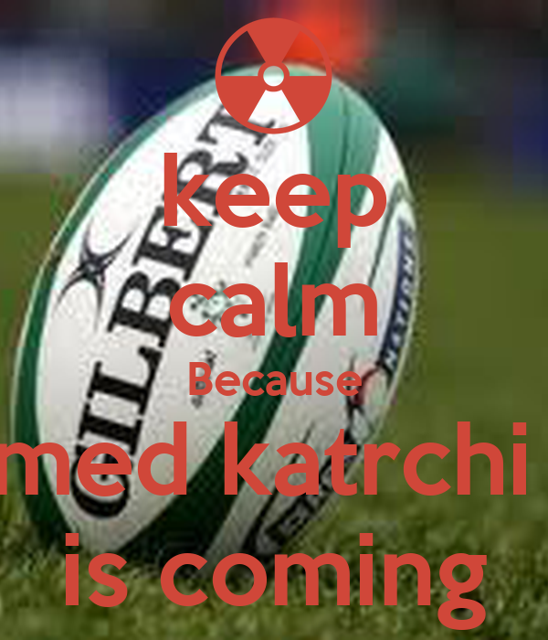 keep calm Because med katrchi  is coming