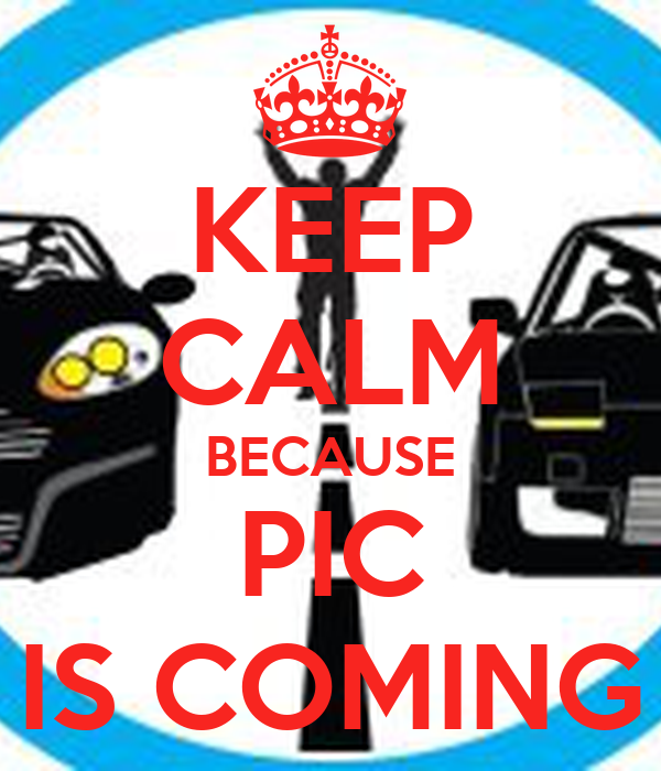 KEEP CALM BECAUSE PIC IS COMING