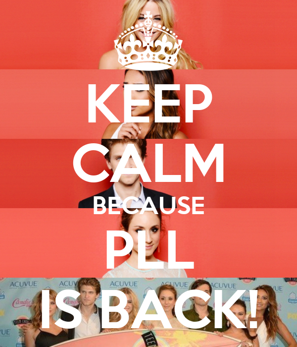 KEEP CALM BECAUSE PLL IS BACK!
