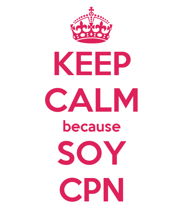 KEEP CALM because SOY CPN