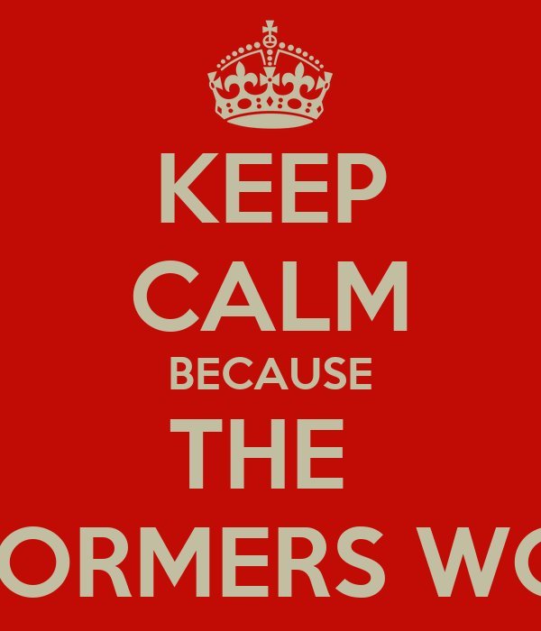 KEEP CALM BECAUSE THE  STORMERS WON