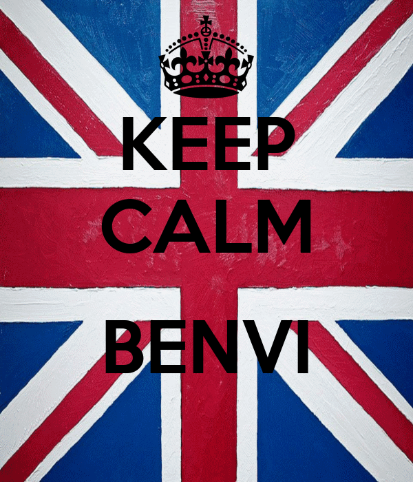 KEEP CALM  BENVI