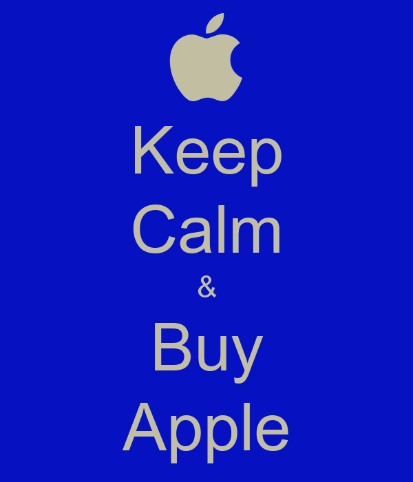 Keep Calm & Buy Apple Poster | hi