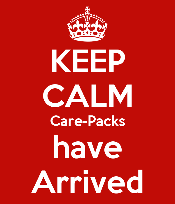 KEEP CALM Care-Packs have Arrived