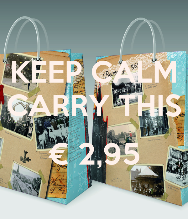 KEEP CALM CARRY THIS  € 2,95