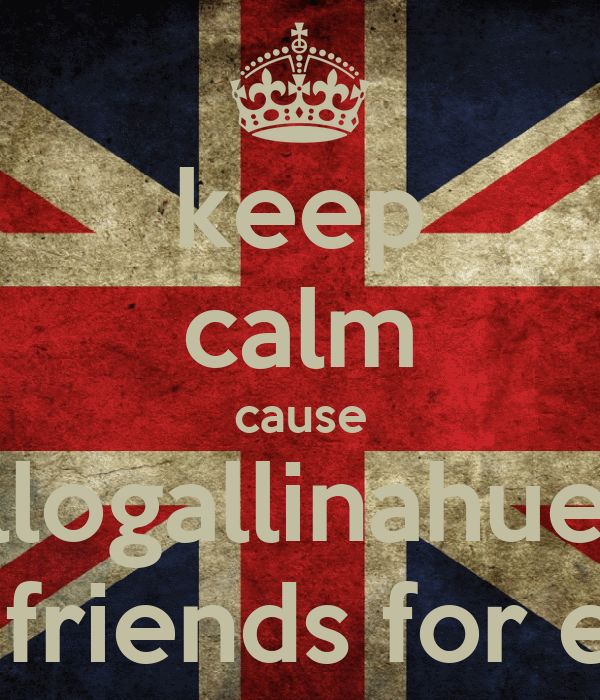 keep calm cause gallogallinahuevo are friends for ever