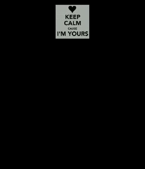 KEEP CALM CAUSE I LOVE YOU
