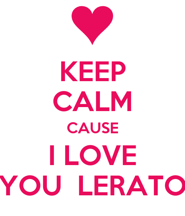 KEEP CALM CAUSE I LOVE YOU  LERATO