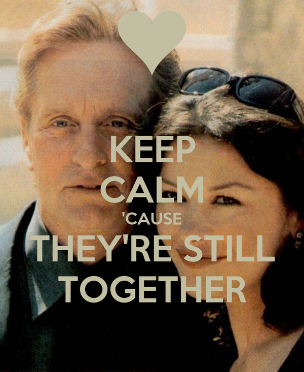 KEEP CALM 'CAUSE THEY'RE STILL TOGETHER