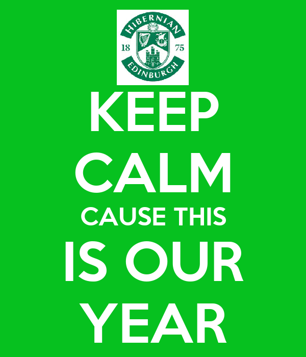 KEEP CALM CAUSE THIS IS OUR YEAR