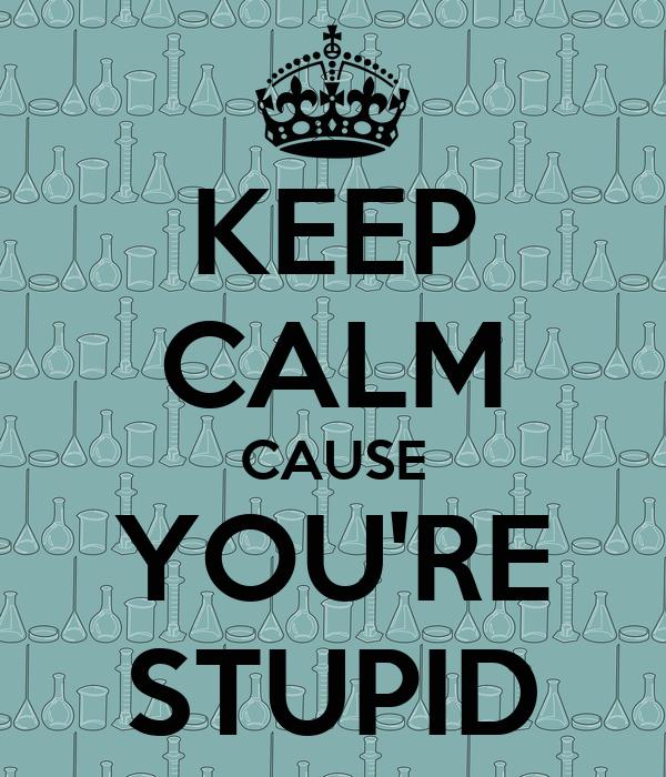 keep-calm-cause-you-re-stupid.jpg