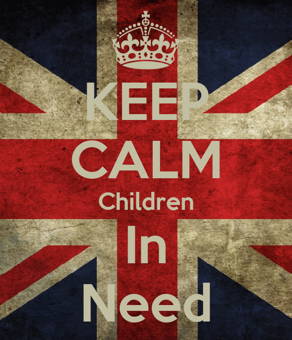 KEEP CALM Children In Need