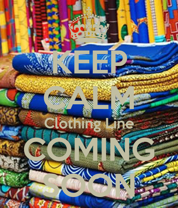 KEEP CALM Clothing Line COMING SOON