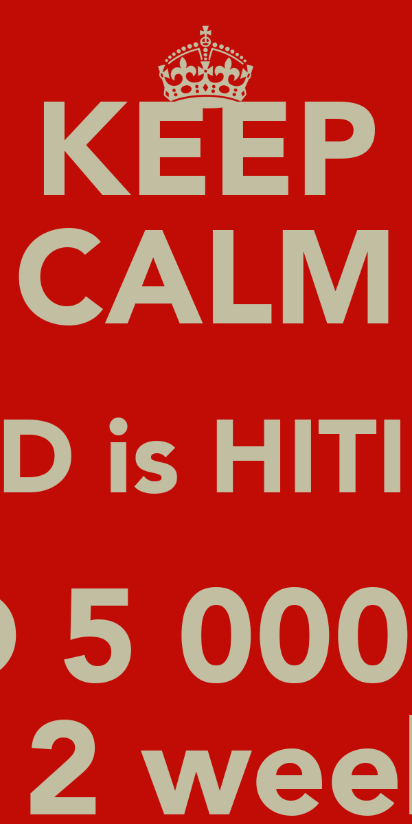 KEEP CALM CLSD is HITIING AUD 5 000 000 in 2 weeks