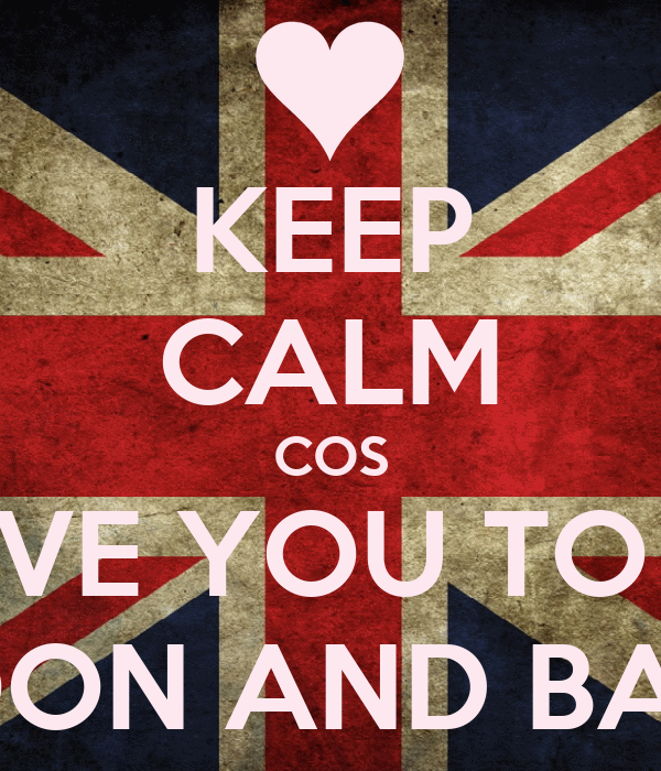 KEEP CALM COS I LOVE YOU TO THE MOON AND BACK