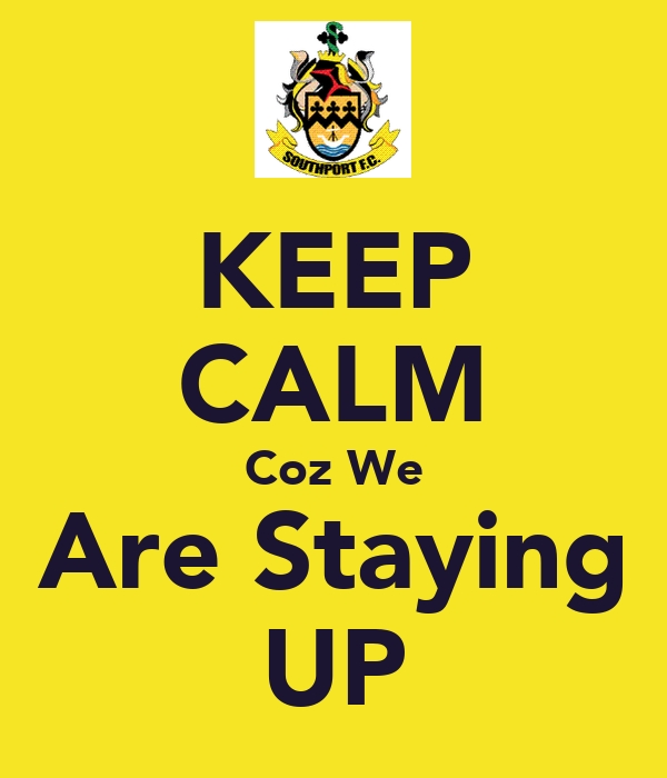 KEEP CALM Coz We Are Staying UP