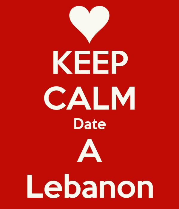 KEEP CALM Date A Lebanon