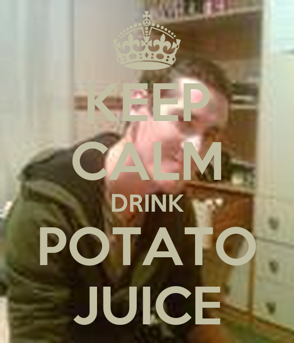 how to keep potato juice fresh