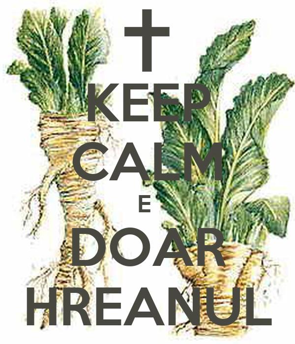 KEEP CALM E  DOAR HREANUL