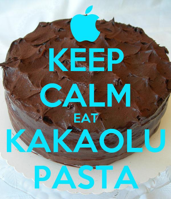 KEEP CALM EAT KAKAOLU PASTA