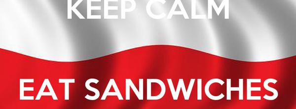 KEEP CALM  EAT SANDWICHES