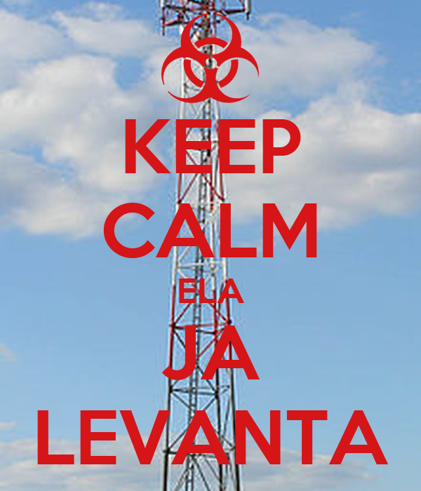 KEEP CALM ELA JA LEVANTA