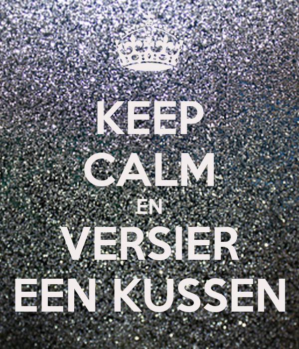 Keep calm en versier een kussen poster bo lichamelijke op keep calm o matic - Versier een entree ...