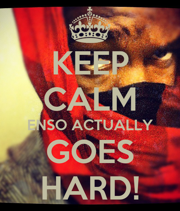 KEEP CALM ENSO ACTUALLY GOES HARD!