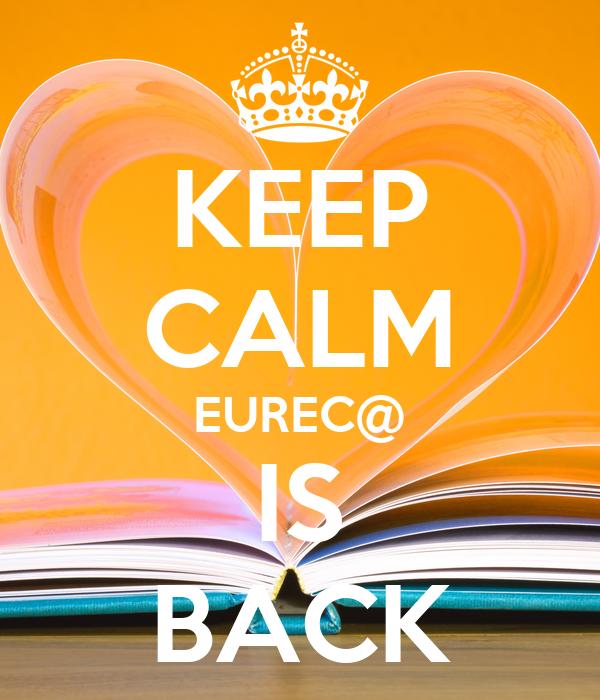 KEEP CALM EUREC@ IS BACK