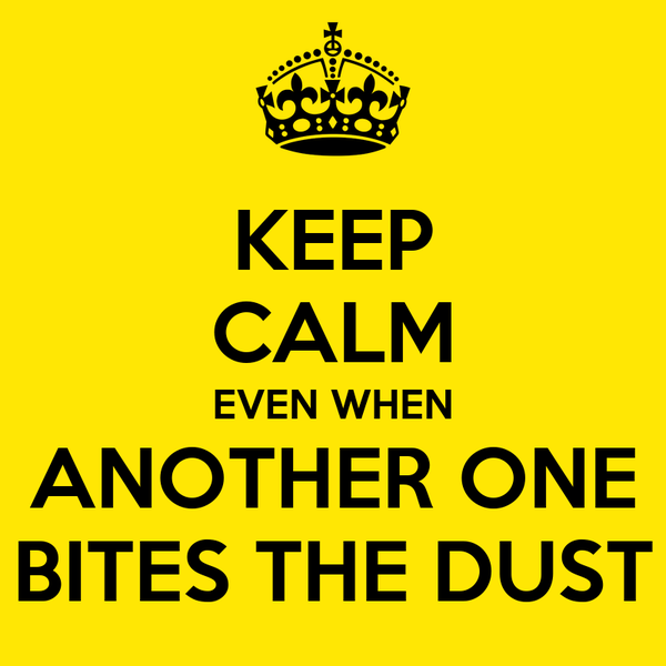 Image result for another one bites the dust